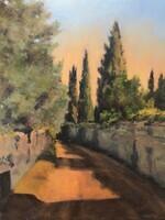 Afternoon Path, Tuscany