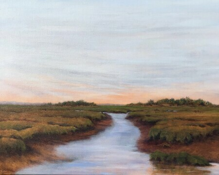 Across the Salt Marsh